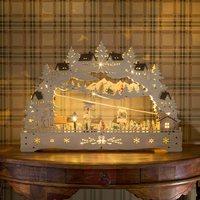 Kjøp julelandby på nett i nettbuikk lysestake med hus